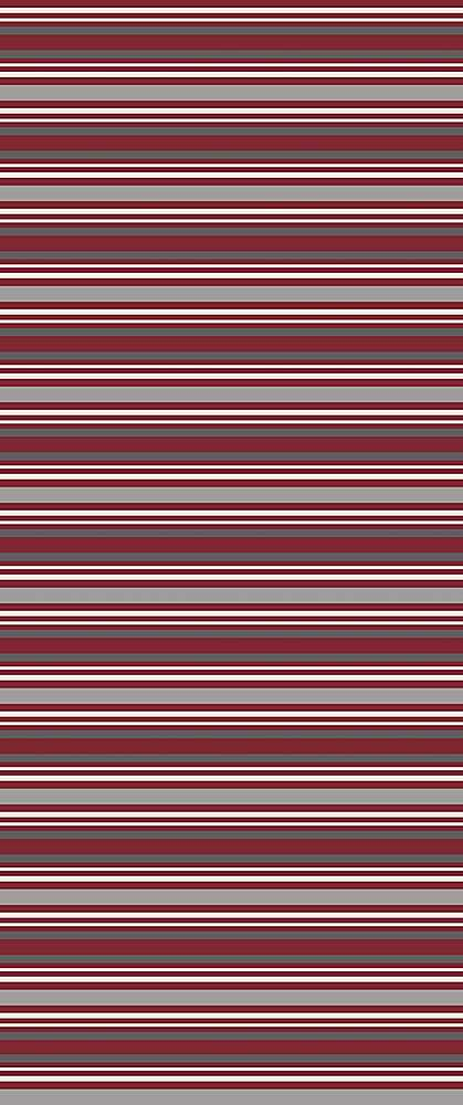 5356-2070 / WINE/GRAY / Variegated Stripe Dty